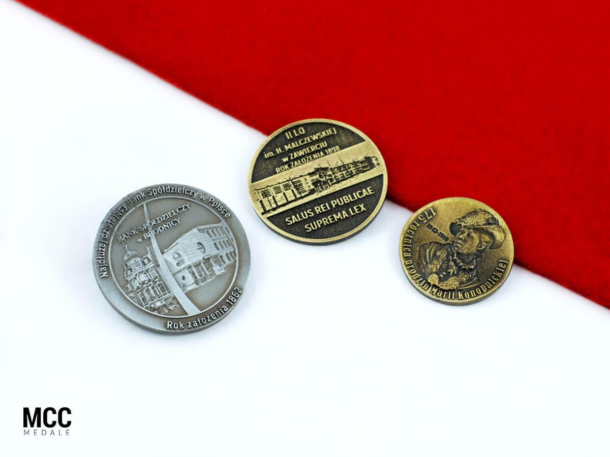 Monety odlewane 2D i 3D