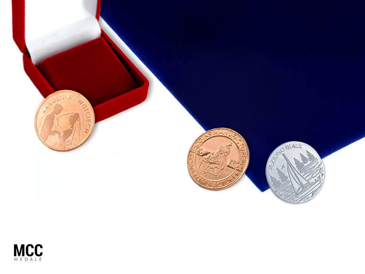 Monety wybijane MCC Medale