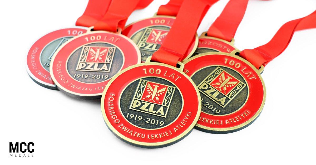 Medale lekkoatletyczne