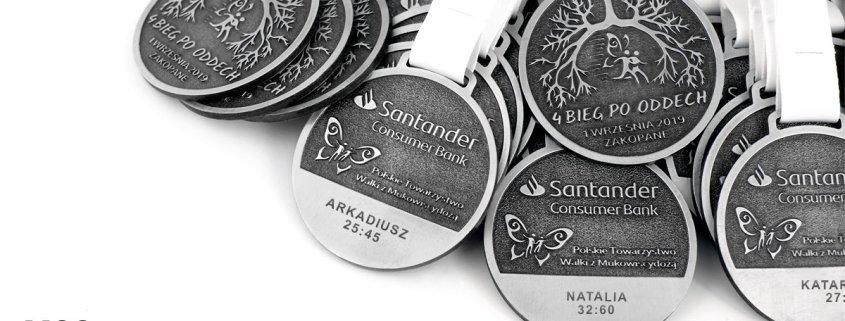 Medale z grawerem wyprodukowane przez firmę MCC Medale