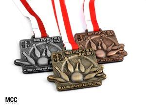Trójwymiarowe medale z grawerem