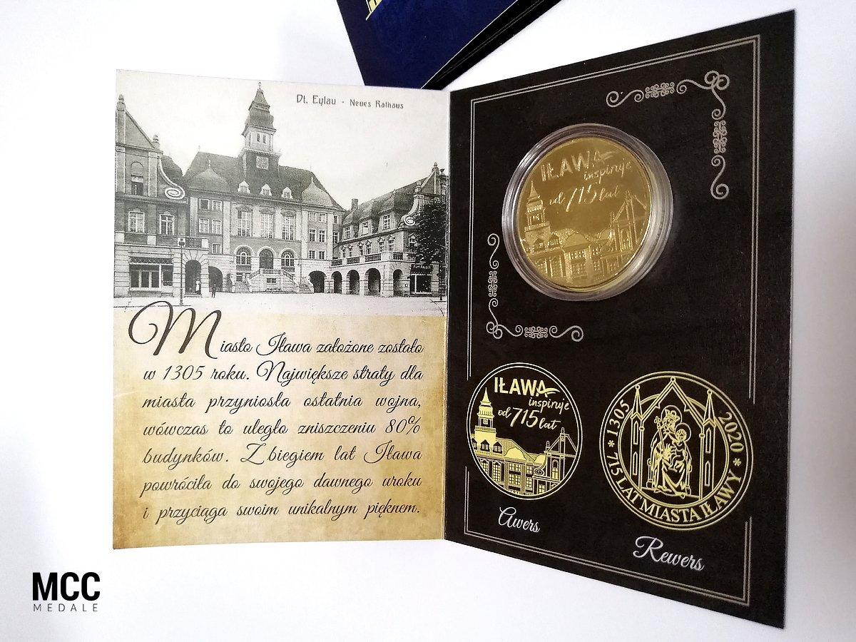 Pamiątkowa moneta okazjonalna wykonana przez MCC Medale