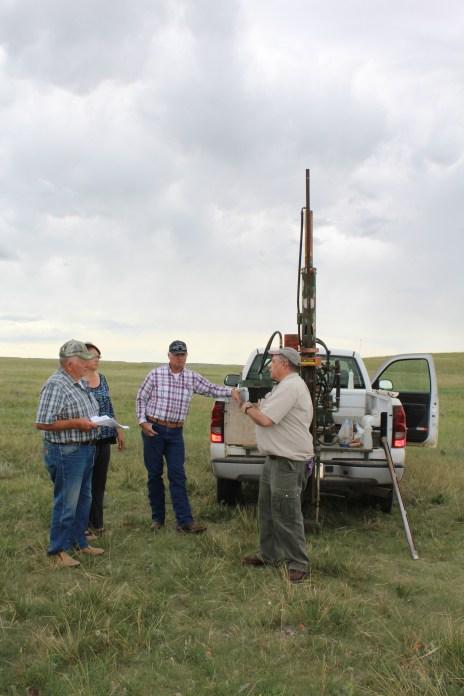 Soil drill rig