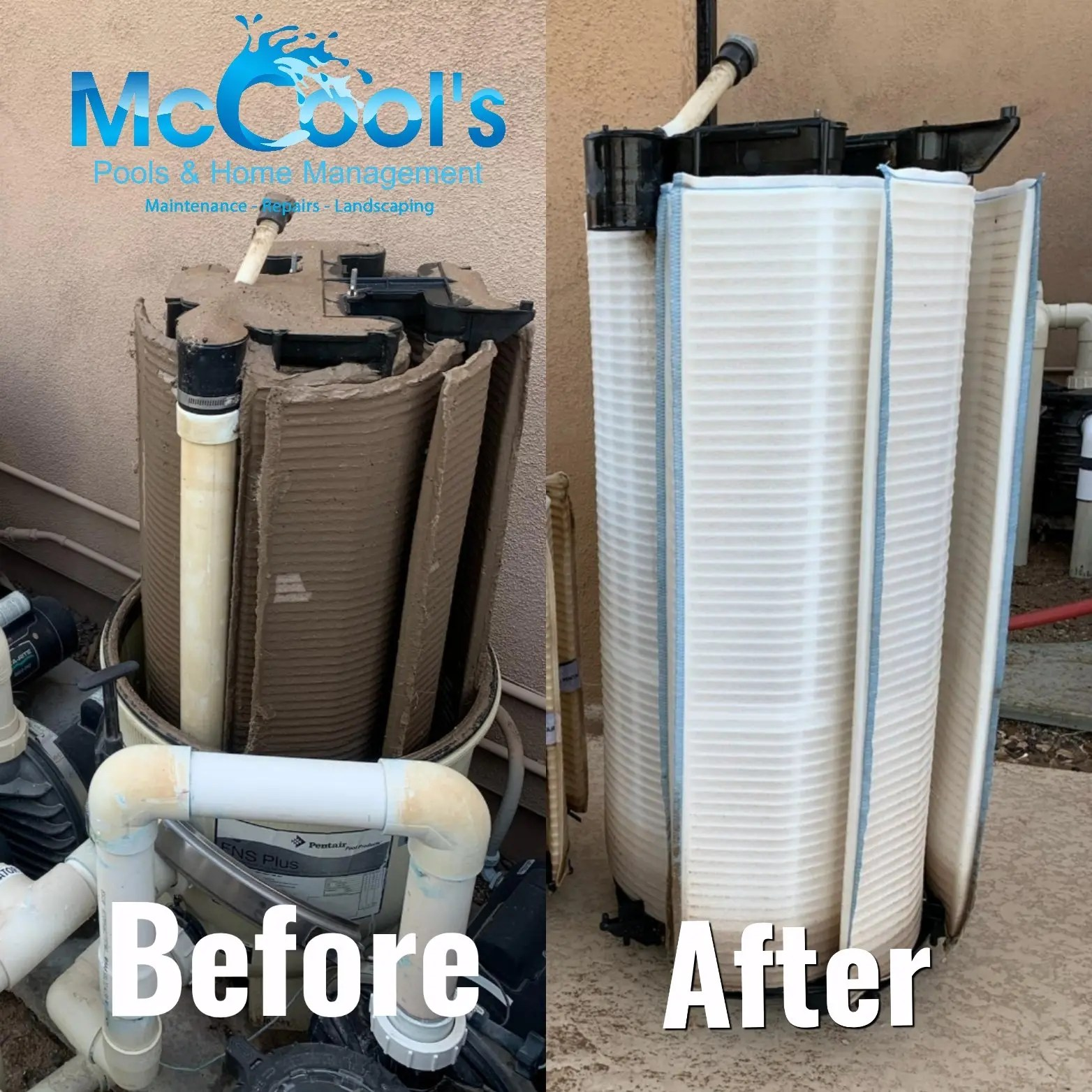 Scottsdale Pool Filter Cleaning