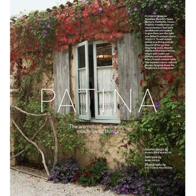 House Beautiful Sept. Interview – Mediterranean Style Home with a Well-Worn Patina