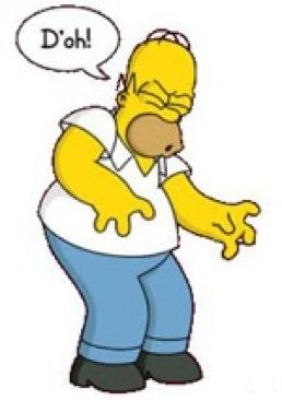 Tranquilo, Homer, no es culpa tuya