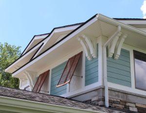 False windows with island shuttters