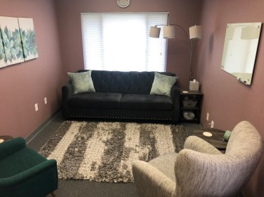 Photo of montgomery county counseling center's comfortable office. They also offer online therapy in maryland. So a therapist can choose to work in-person or remotely.