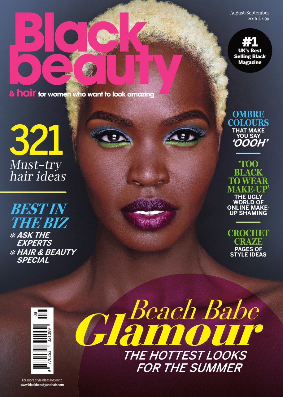 Black Beauty Hair the UKs No 1 black magazine August
