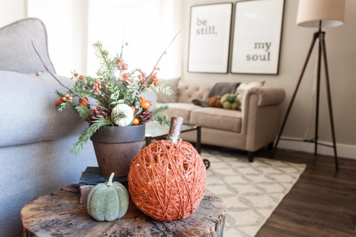 Yarn Pumpkins and Super Soft Hands