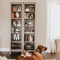 Bookcase Makeover + Pro Design Tips