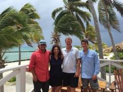 Family Belize departure