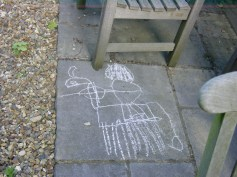 McCrae drawing of a knight 1