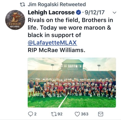 Tribute Lehigh