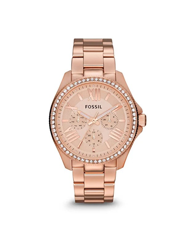 Fossil - Ceas Fossil multifunctional Cecile AM4483 - Auriu Rose