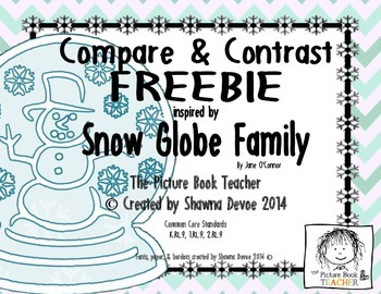 Compare and Contrast FREEBIE inspired by Snow Globe Family
