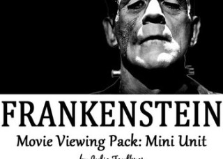 Frankenstein Movie Viewing Pack {Graphic Organizer, Quiz, Prompt}