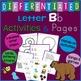 Letter B Alphabet Unit Plan