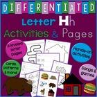 Letter H Alphabet Unit Plan