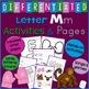 Letter M Alphabet Unit Plan