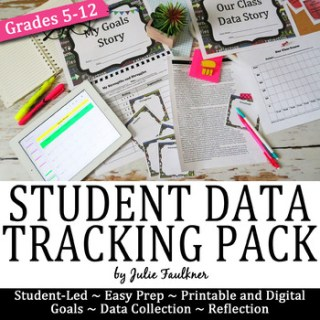 How to Track Student Data, Chart, Goal-Setting, Evaluation