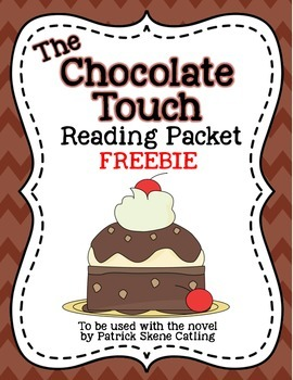 http://www.teacherspayteachers.com/Product/The-Chocolate-Touch-Reading-Packet-Freebie-1088486
