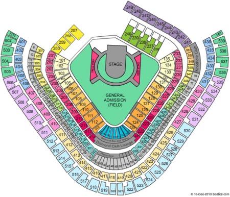 Anaheim Stadium Seating Map | Cabinets Matttroy