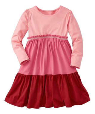Pink Twirl Girl Dress - Infant, Toddler & Girls