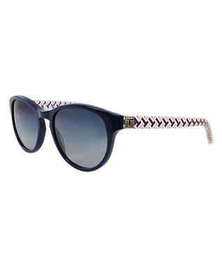 Navy Chevron Sunglasses