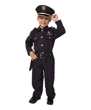 Deluxe Police Officer Dress-Up Set - Toddler & Kids