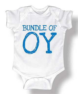 White 'Bundle Of Oy' Bodysuit - Infant