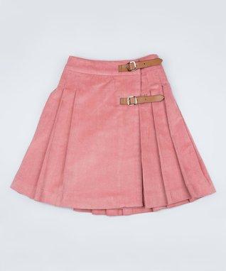 Pink Corduroy Skirt - Toddler & Girls
