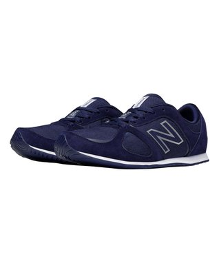 Navy 555 Total Lifestyle Suede Sneaker