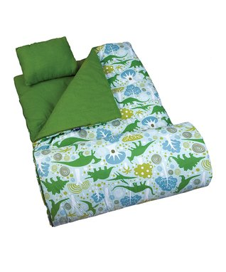 Green Dino-Mite Original Sleeping Bag