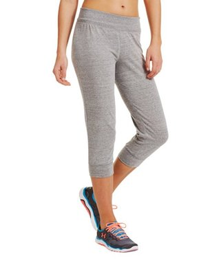 Charcoal Undeniable Capri Pants