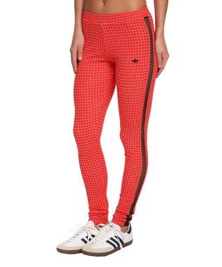 Originals Red & White Modern Tartan Leggings