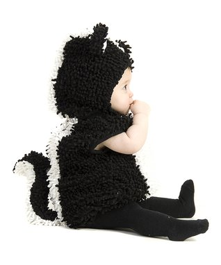Black & White Stinky Skunk Dress-Up Set - Infant & Toddler