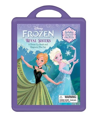 Frozen Royal Sisters Magnetic Play Set