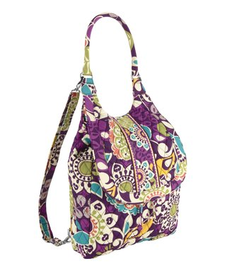 Plum Crazy Backpack Tote