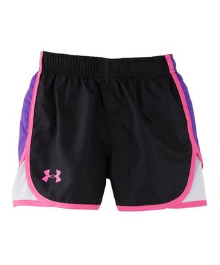 Black Escape Woven Shorts - Infant, Toddler & Girls
