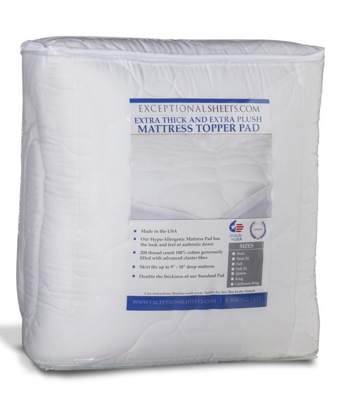 Thick Crib Mattress Pad Exceptional Sheets Extra Plush