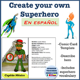 Create your own Superhero en espanol