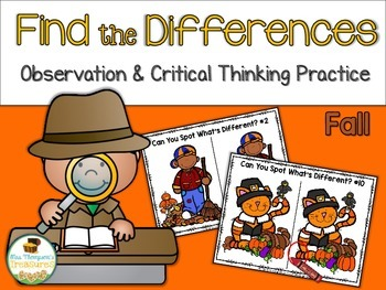Find What's Different - Observation & Critical Thinking Fu