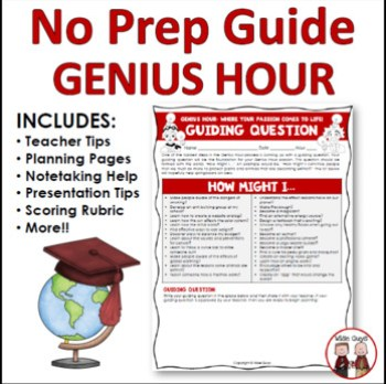 Genius Hour is a time set aside during the day where students can work on a passion project. Genius hour is sure to be a hit with your elementary students.