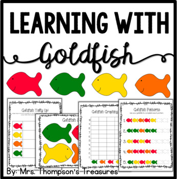 Learning With Goldfish Fun Activity Pack {Graphing, Sortin