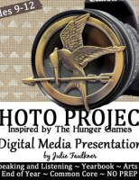 The Hunger Games Photo Challenge - Digital Arts Project