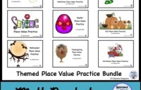 Themed Place Value Practice
