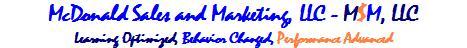 Subject Matter Experts, McDonald Sales and Marketing, LLC