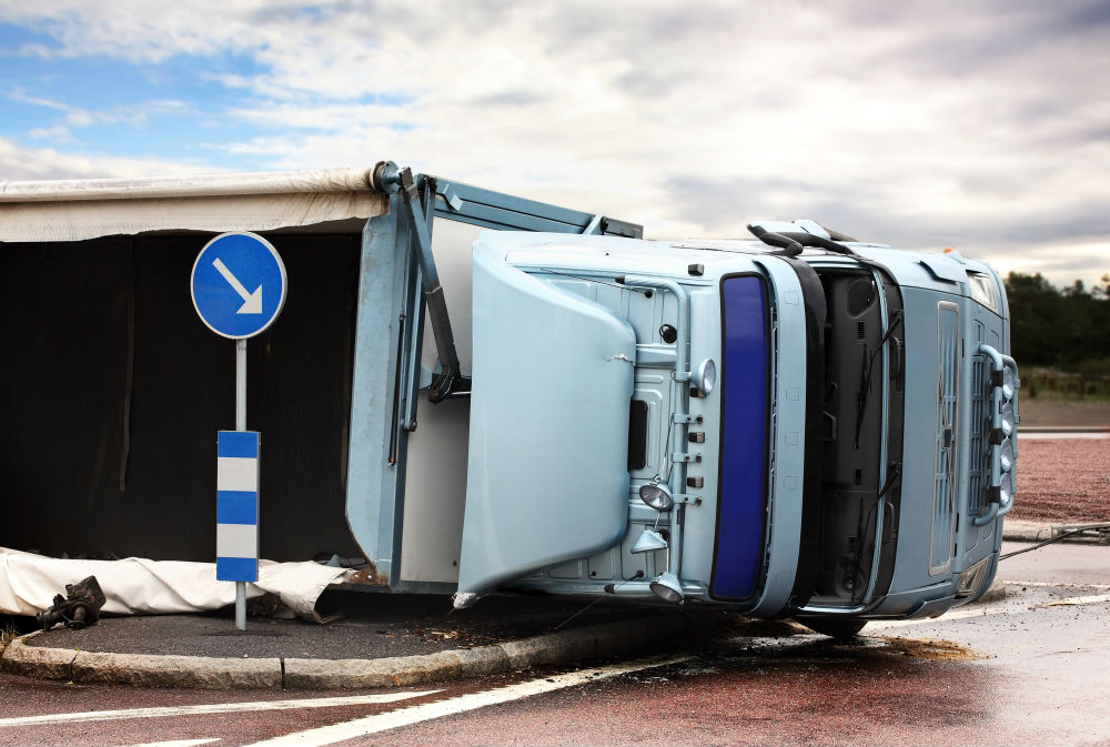 distracting driving truck accident leads to settlement