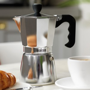 Stove top coffee makers